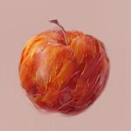 彩色油画苹果图片大全