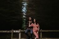 欧美孕期夫妻摄影精美图片