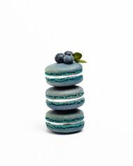 蓝莓味马卡龙精美图片