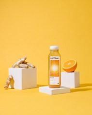 生姜橙子橙汁精美图片
