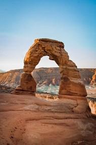 拱形岩石地质风貌精美图片