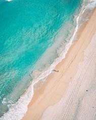 蓝色大海沙滩风景图片大全