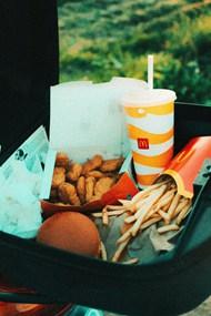 麦当劳薯条可乐汉堡图片下载