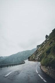 大峡谷蜿蜒公路图片素材
