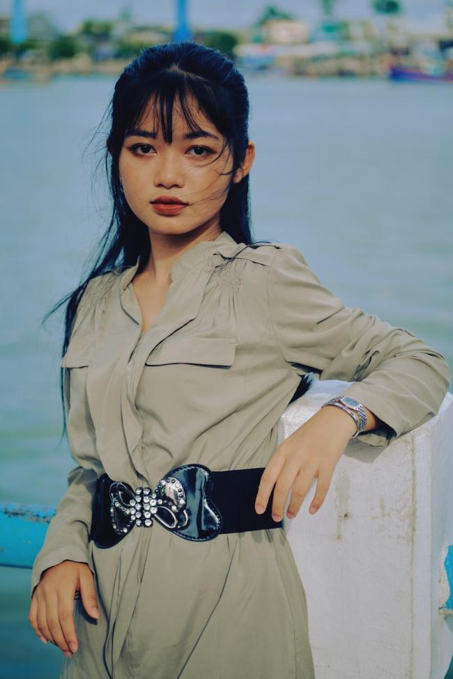 亚洲美女景点摄影高清图片