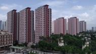 现代公寓大楼图片