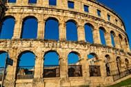 圆形罗马斗兽场建筑精美图片