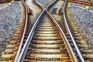 十字路口交通铁路高清图片