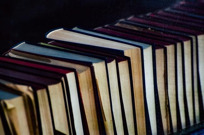 外国图书旧书籍图片
