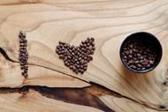 咖啡豆拼凑I LOVE YOU 高清图片