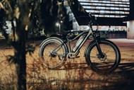 黑色山地自行车图片大全