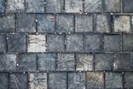 木砖墙背景图片下载