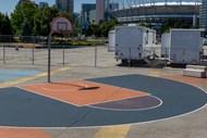 室外篮球场精美图片