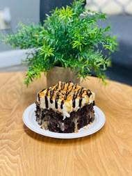 一块巧克力黑森林蛋糕精美图片