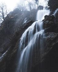 延时写真的瀑布精美图片
