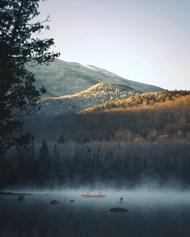 原生态山水湖泊风景图片大全