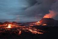 火山爆发岩浆图片下载