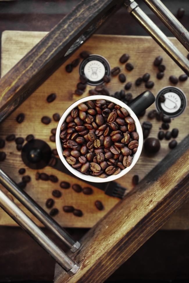 咖啡豆高清素材图片素材