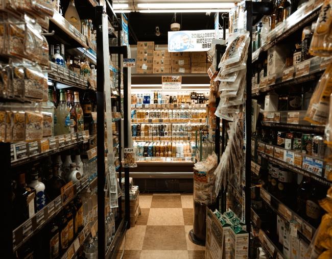 超市饮品陈列图片下载