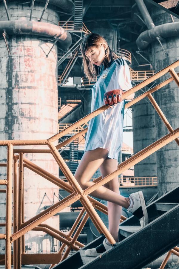 清纯日本美女人体写真图片素材