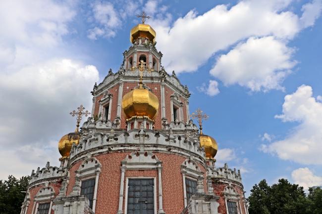 圆顶老式教堂图片大全