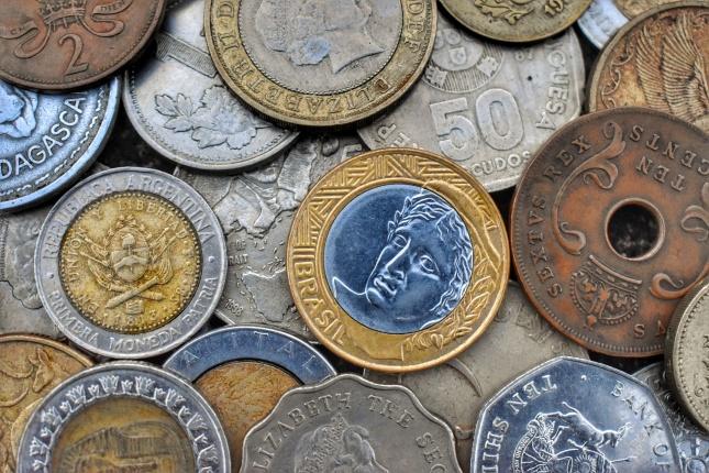 外国古币图片素材
