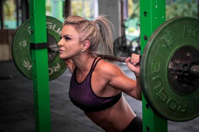 健身美女人体艺术摄影图片素材