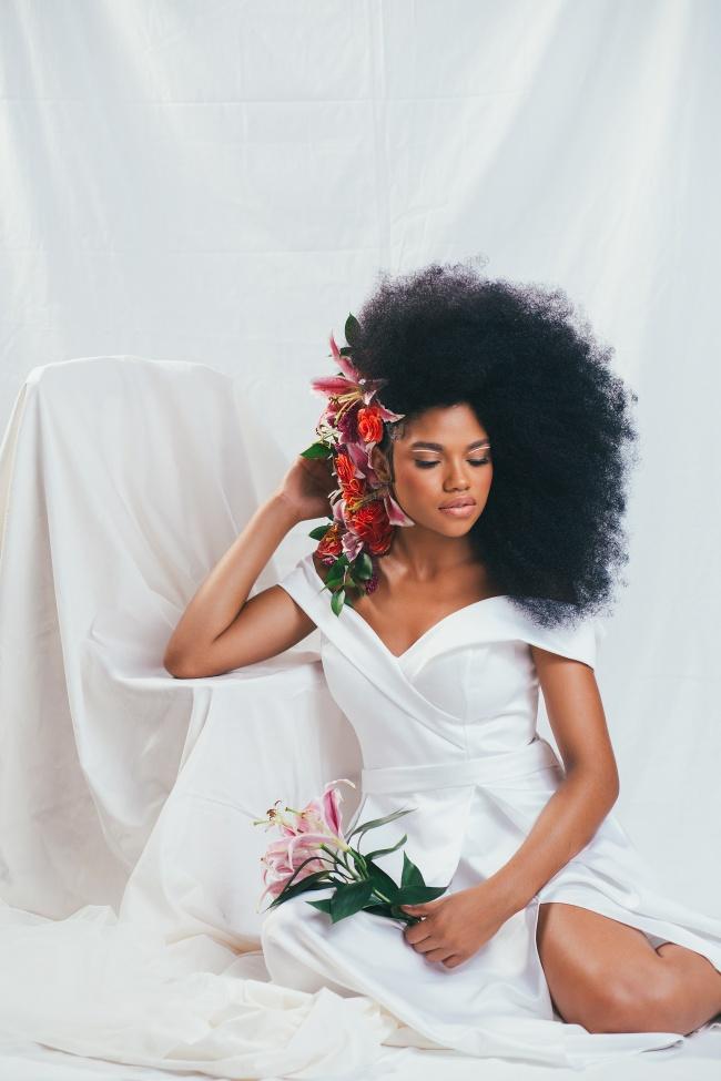 欧美风黑人美女艺术摄影图片