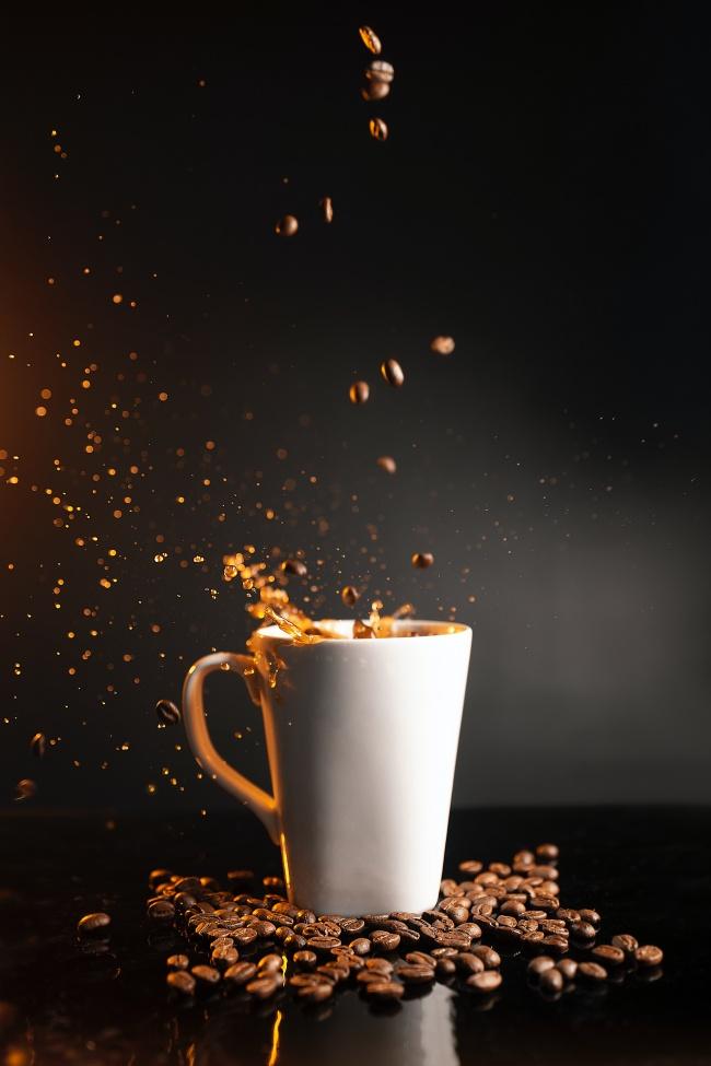 咖啡咖啡豆写真图片下载