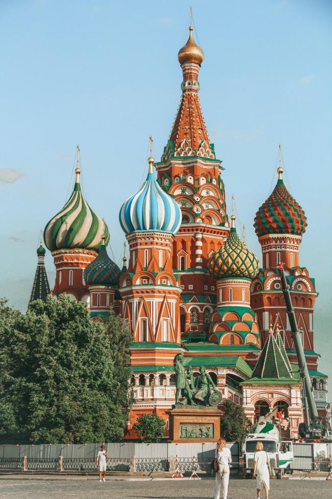 莫斯科圣瓦西里升天教堂图片大全