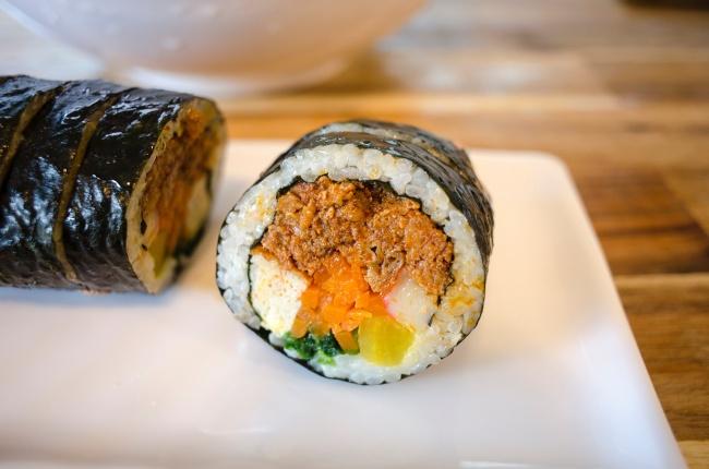 寿司饭团精美图片