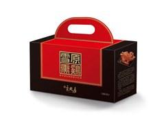 宋大房雪原熏鸡礼盒包装设计免费psd素材