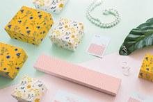 珠宝包装盒样机概念psd分层素材