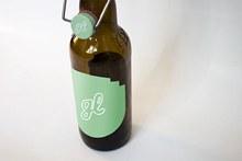 啤酒瓶样机psd图片