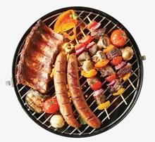 韩式美食烤串烧烤psd分层素材