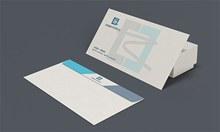 信纸信封效果图样机psd免费下载