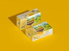 黄油块包装样机psd图片