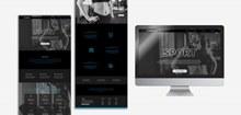 健身网页界面设计psd模板psd免费下载