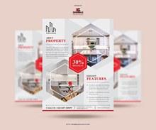 房地产传单设计模板psd免费下载