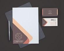 企业VI模板设计分层素材