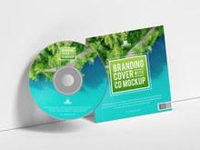 CD包装样机模型分层素材