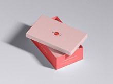 免费包装鞋盒样机模型psd图片