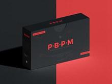 免费产品包装盒样机模型psd下载