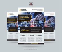 2020年免费商业营销传单模板分层素材