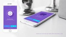 iOS应用程序展示样机模型psd图片