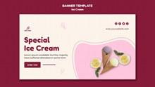 冰淇淋BANNERpsd免费下载