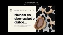 牛奶面包海报设计psd素材