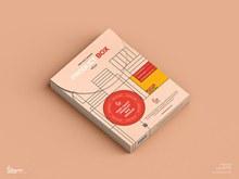 免费产品盒样机模型psd图片