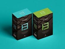 免费现代产品包装盒样机模型psd免费下载