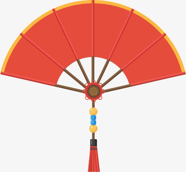 国潮中国风扇子矢量图片